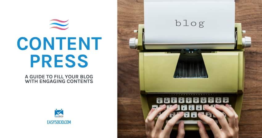 fill your blog with engaging contents image