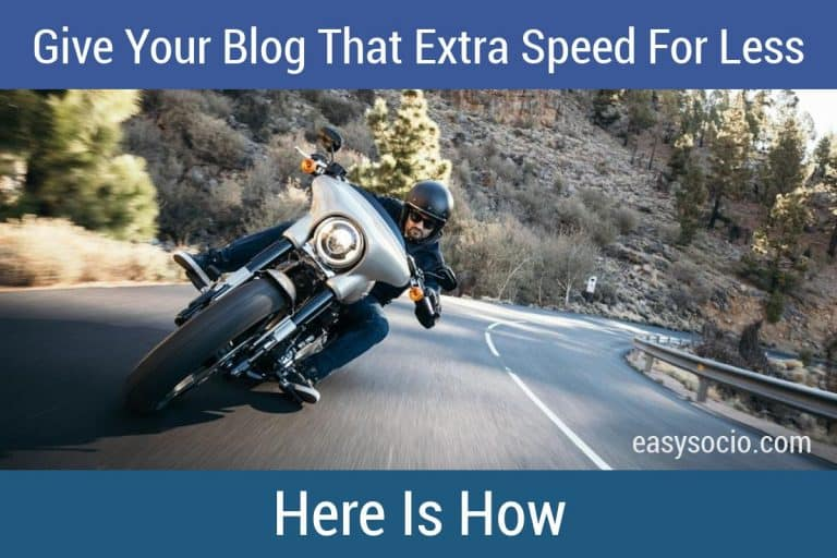 Give Your Blog That Extra Speed For Less