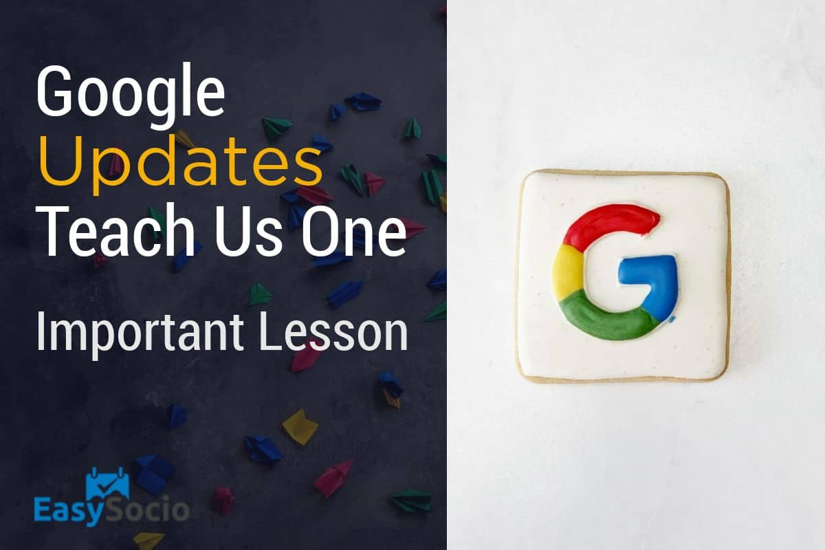 An Important Lesson We Should Learn About Google's Core Updates