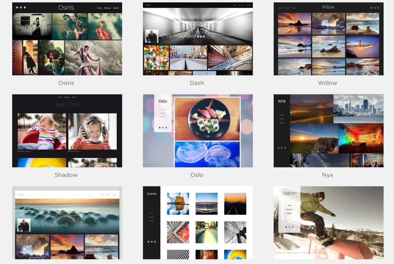 Cloud Photo Storage Templates