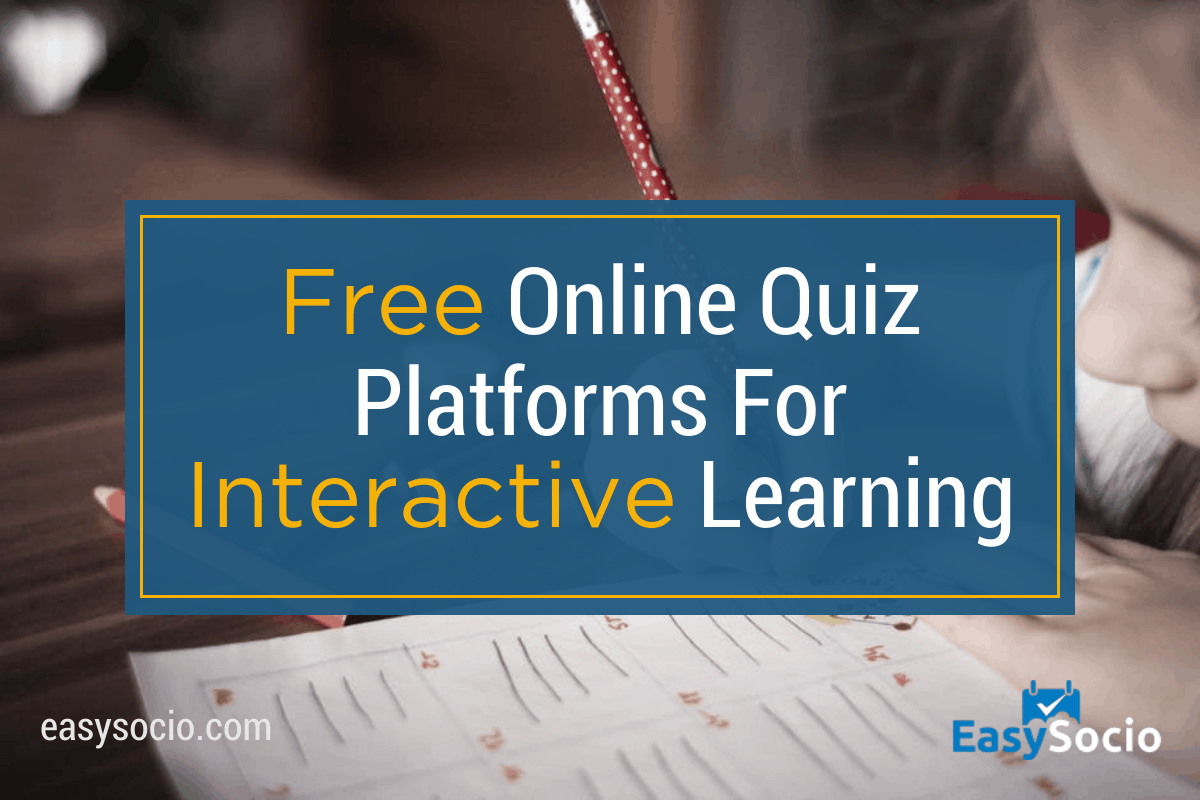 Free Quiz Platforms