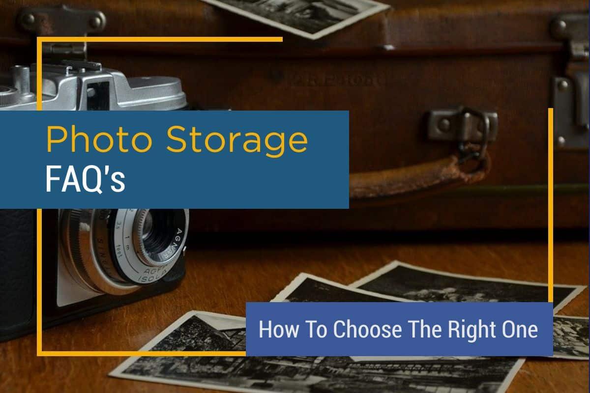 Online Photo Storage Solution