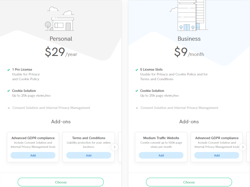 Iubenda Normal Pricing
